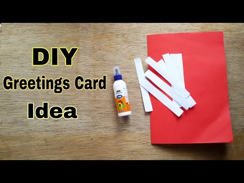 DIY greetings card/Easy greetings card making idea /Easy DIY craft for kids