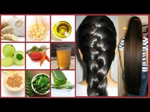 Silky Hair, Smooth Hair, Long Hair, Shiny Hair, Strong Hair, and Black Hair with Homemade Hair Oils