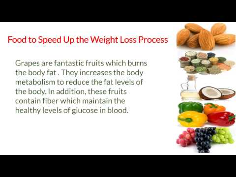 Food to Speed Up the Weight Loss Process