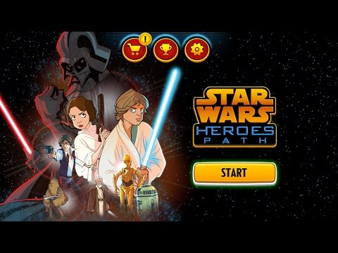 Disney Star Wars - Heroes Path - Best App For Kids - iPhone/iPad/iPod Touch
