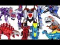 Dinosaurs 5 Combine Transformers Defeat The Giant Insect And Dinosaurs DuDuPopTOY