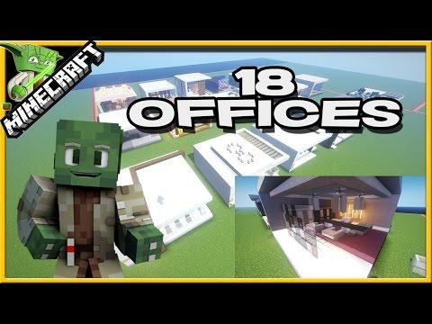 Minecraft 18 Office Designs