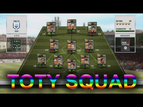 FIFA 12 - IF TOTY Squad & Gameplay (BEST TEAM ON FIFA?) (IF Messi, IF Ronaldo, IF Rooney)