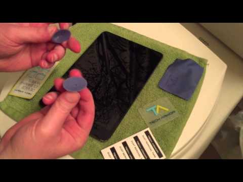 How to Apply a Glass Screen Protector to an iPad