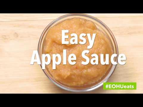 #EOHUeats - Easy Apple Sauce