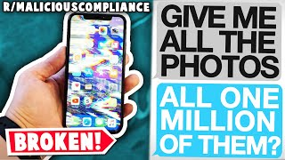 r/maliciouscompliance | Glitching Out an iPhone with Compliance...
