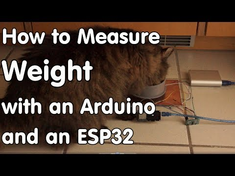#161 Measuring weight using an ESP32, a strain gauge, and a HX711