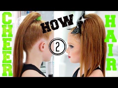 HOW TO CHEER HAIR | ALL STAR CHEERLEADING TUTORIAL
