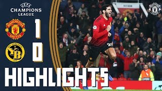 Highlights | Manchester United 1-0 Young Boys | Late Fellaini Winner Sends the Reds Through!
