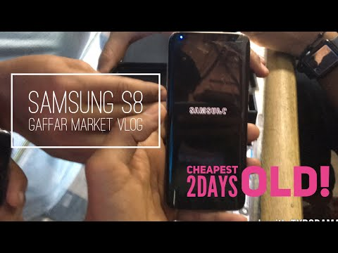 USED SAMSUNG S8 & S8+ PRICE IN GAFFAR MARKET KAROL BAGH DELHI AT CHEAP PRICE VLOG STYLE