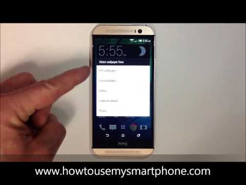 How to Change your Wallpaper - HTC One