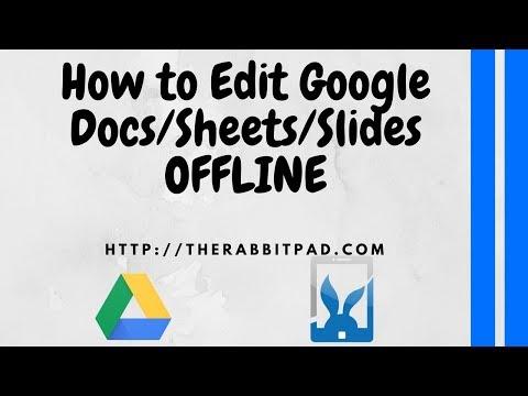 How to Edit Google Docs Offline