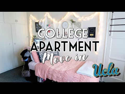UCLA MOVE-IN DAY! My First Apartment/Senior Year 💙🔑💛🏡