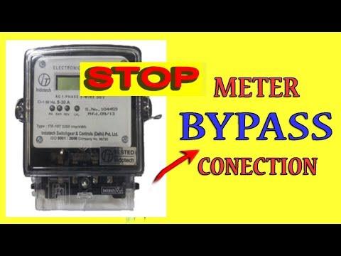 Stop Meter by Magnet मैगनेट से मीटर बन्द