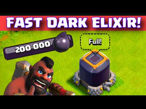 (Tutorial) how to get dark elixir fast (th8/ new th9)