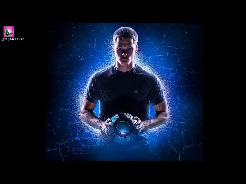Football Poster Photo Manipulation Tutorial In Photoshop - Photoshop Tutorial - Photo Effect