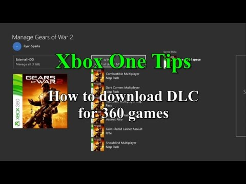 Xbox One Tips & Tricks - Downloading DLC for 360 games