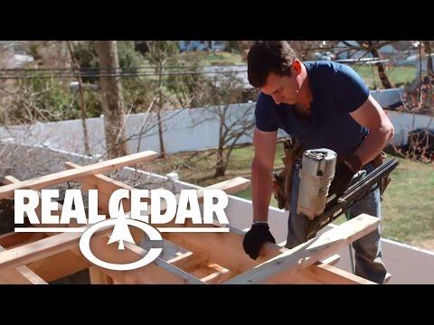 How to build : PERGOLA - RealCedar.com