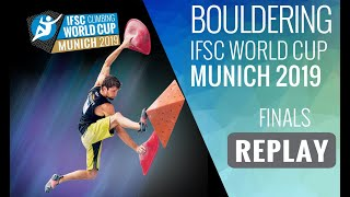 Download IFSC Climbing World Cup Munich 2019 - Bouldering Finals Video