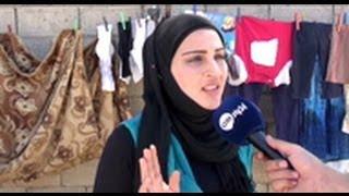 مشهد مؤثر: لاجئة سورية لا تجد طعاما لطفلها