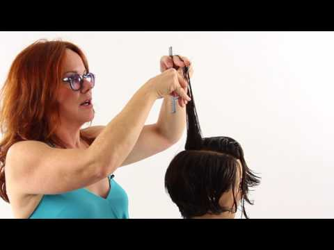 How-To Video: Short Bob on Curly Hair