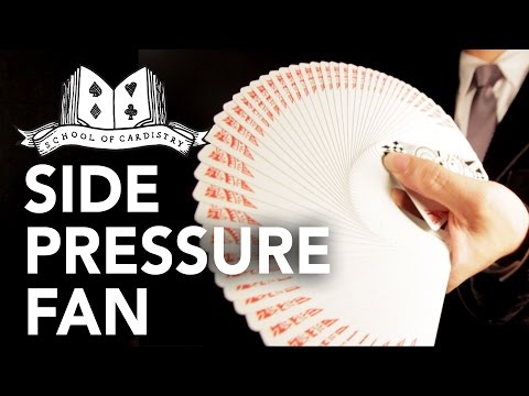 Cardistry for Beginners: Spreads - Side Pressure Fan Tutorial (Create bigger fans!)