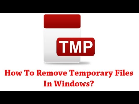 How To Remove Temporary Files In Windows Computer (Quick & Easy Way)