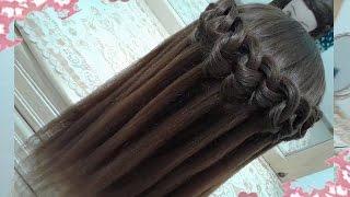 peinados recogidos faciles para cabello largo bonitos y rapidos con trenzas para chica en fiestas58