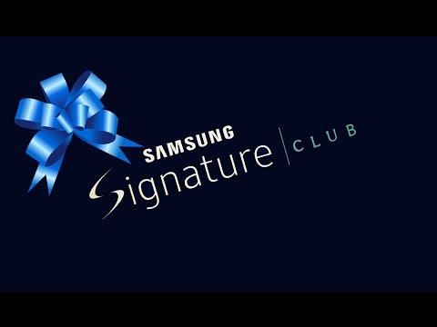 Que Nos Regalo Samsung Signature Club?