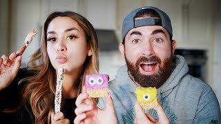 BAKE EASY & CUTE HALLOWEEN TREATS WITH US! | ALEX AND MICHAEL