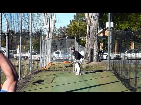 150+ km/hr - Facing Fast Bowling- Shoaib Akhtar v Ponting & Hayden & Some of our Net Session