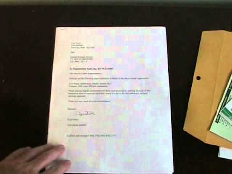 How To Mail Documents to the IRS - Bulletproof Method