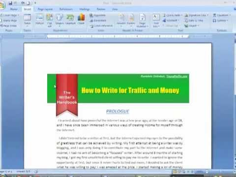 How To Merge Multiple MS Word Documents into a Single Document