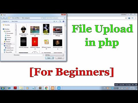 How to upload file in php [beginners]