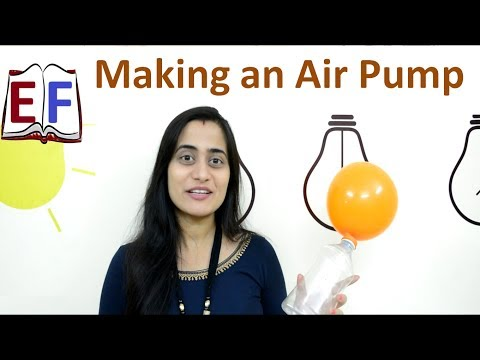 Making an Air Pump : School Science Physics Project