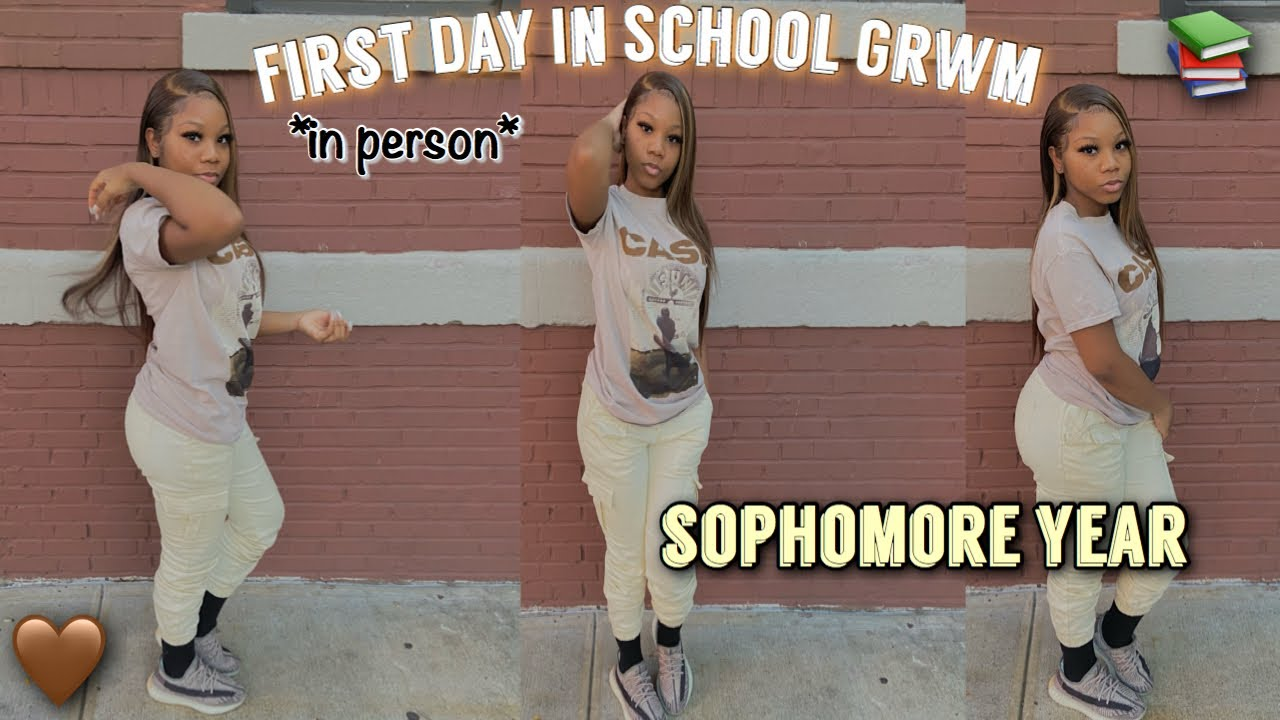 Grwm: First Day Of School 📚 || Sophomore Year (in person)