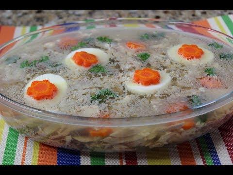 Kholodetz/Meat Jelly Recipe/Холодец