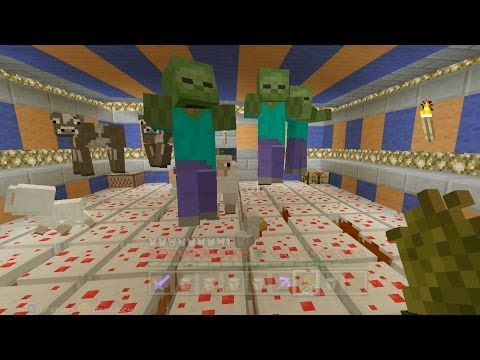 Minecraft Xbox - Quest For A Zombie Party (33)