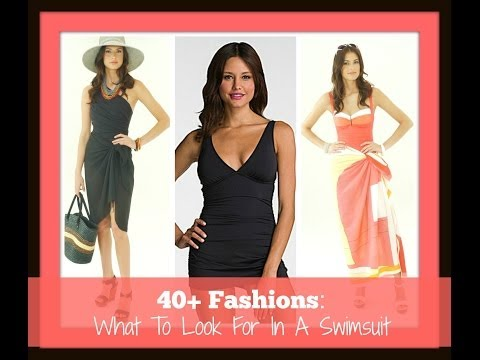 40+ Fashions: What To Look For In A Swimsuit
