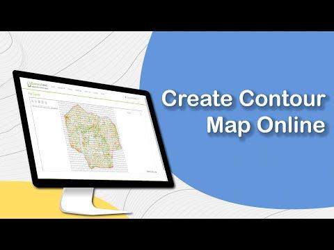 Create Contour Map Online