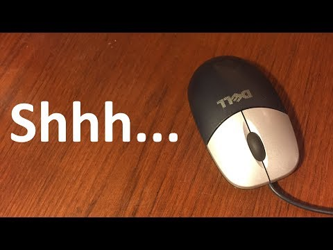 How To Silence An Old Dell Mouse