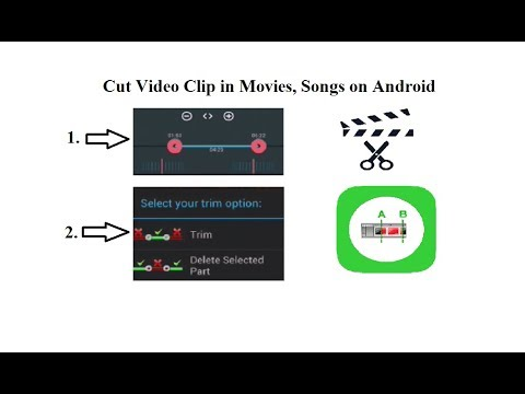 Trim/Cut Video Clip in Android | Trim Movies Scene