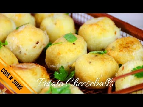 Mashed Potato Balls - Cheesy and Delicious