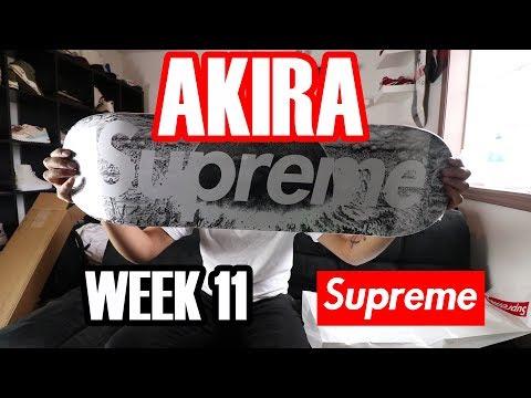 Supreme Akira Week 11 DECK, LONGSLEEVE, +TEES Review FW17