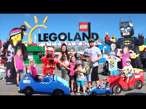 🎢LEGOLAND TOUR, BEST KIDS RIDES, AND MEETING LEGO BATMAN!