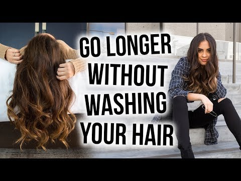 HOW TO GO LONGER WITHOUT WASHING YOUR HAIR + MAKE YOUR HAIRSTYLE LAST THROUGH THE WEEK ♡