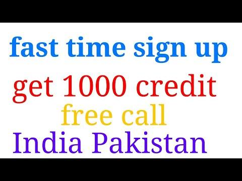 Daily 1000 minute free call India Pakistan