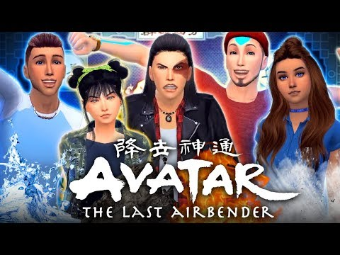 💧☄️🔥🌪AVATAR: THE LAST AIRBENDER💧☄️🔥🌪 Reimagined In the Sims 4!