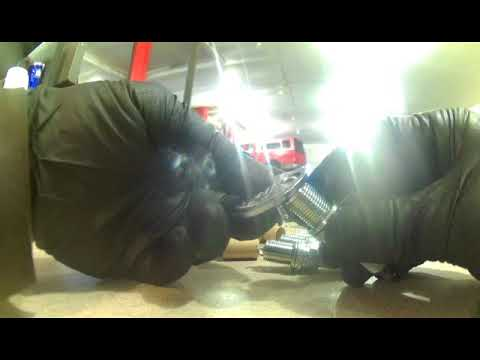 Spark plug replacement Kia Rondo 2006 2007.  Install, remove or replace