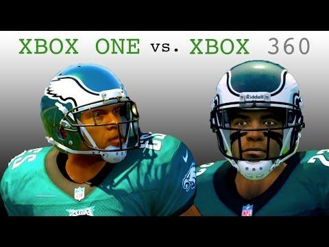 Madden NFL 25 Graphics Comparison (XBOX ONE vs XBOX 360)